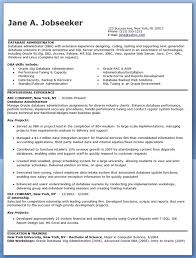 ... Database Administrator Resume Sample Creative Resume Design - sql  server resume sample ...