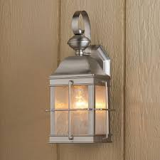 brushed nickel outdoor lights elegant nautical inspired lantern outdoor wall light nautical lanterns