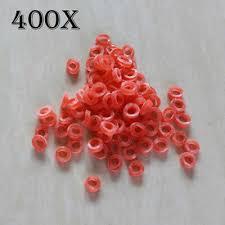 <b>200PCS</b> Mini Rubber Bands Fishing Nano <b>Pellet For</b> 2 -12mm Baits ...
