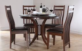 fabulous dinette table and chairs fascinating round dining room sets intended for wooden kitchen designs 18