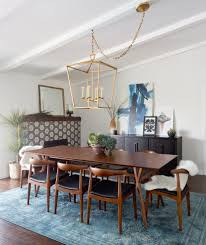 los angeles cb2 glass dining table with round bar height stools room contemporary and gold lantern