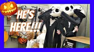 new at home store halloween decorations walkthough merchandise