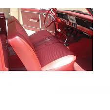 nova chevy ii ss front split bench seat covers vinyl 1966
