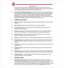 fire incident report form template fire investigation reports oyle kalakaari co