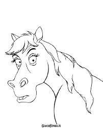Disegni Di Cavalli Da Colorare Giocabimbo