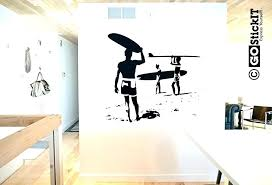 surfer wall art outdoor surfboard decor surf