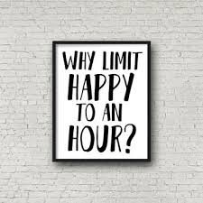 happy hour bar image with quote