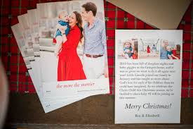 The More The Merrier Christmas Card Pregnancy Announcement