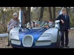 Supercar Bugatti Veyron Kids Size Full Movie Youtube