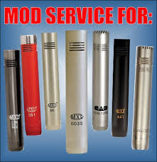 silent sky studios mic mod kits and mod services this mod service for the small diameter pencil style mics listed above consists of removing and replacing 3 of the low quality stock ceramic capacitors