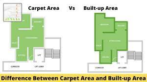 difference between carpet area and