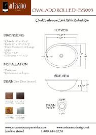Mesmerizing Bathroom Sink Sizes 111 Standard Bathroom Sink ...