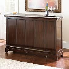 home bar furniture. Steve Silver Newbury Silverstone Bar With Foot Rail - Cherry Home Furniture