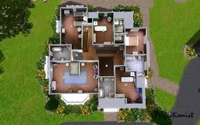 Small Picture House Floor Plans Sims 4 Eclectic Medium Modern House Floor Plans