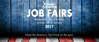 camp america job fair camp america