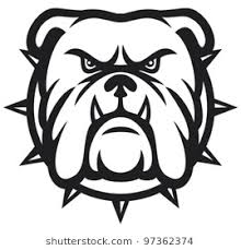 bulldog clipart. Modren Clipart Angry Bulldog Head Vector Illustration Inside Bulldog Clipart I