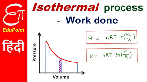 work done in isothermal process in thermodynamics in hindi