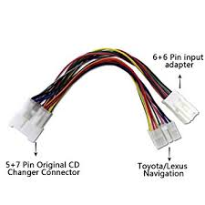 6 pin wiring harness for cars new era of wiring diagram • amazon com moonet car lexus430 10 10 to 5 7 pin 6 6 pin y cable rh amazon com receiver wiring harness pins receiver wiring harness pins