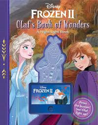 Disney Book Light Disney Frozen 2 Olafs Book Of Wonders A Night Light Book
