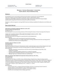 Resume Profile Examples Healthcare Administration Augustais