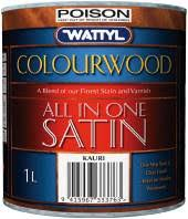 Wattyl Stain Colour Chart Nz Wattyl Colourwood Interior Stain Varnish All In One