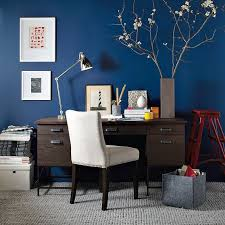 blue office decor. blue office eclectichomeoffice decor