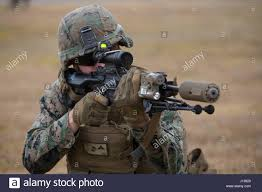 Marine Rifleman U S Marine Lance Cpl Christian Canete A Rifleman With