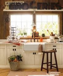 Modern Country Kitchen Decor Small Country Kitchens Us House And Home Real Estate Ideas
