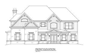 4 bedroom home plan with 3 car garage