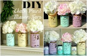 Ways To Decorate Glass Jars DIY Chalk Paint Mason Jar YouTube 12