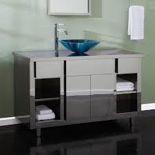 bathroom cabinet lighting. Stainless Steel Freestanding Sink Custom Sliding Glass Doors Bathroom Cabinet Lighting