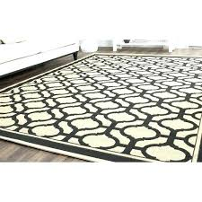 black indoor outdoor rug or black and cream rugs tangier cream black indoor outdoor rug x