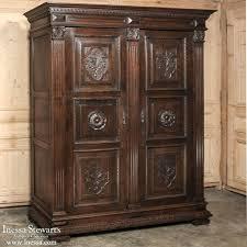 antique armoire furniture. Antique Furniture Italian Neoclassical Walnut Armoire Wwwinessacom Armoires Wardrobes