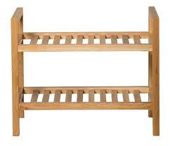 waverly oak narrow 2 tier stackable shoe rack