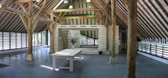 interior space renovated flemish barn