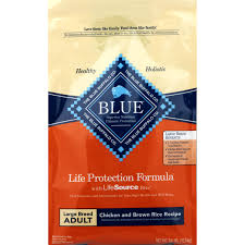 Blue Buffalo Wilderness Feeding Chart Blue Buffalo Large Breed Dog Food Chicken And Brown Rice 24