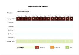 Holiday Calendar Template Mesmerizing Vacation Schedule Template Excel Employee Vacation Absence Schedule