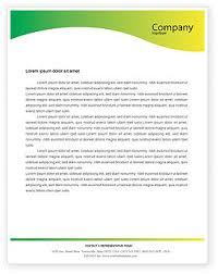 Microsoft Office Letterheads Scientific Letterhead Templates In Microsoft Word Adobe