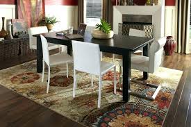 dining room area rug size area rugs for dining room new no area rug dining room