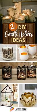 21 Adorable DIY Candle Holder Ideas to Make Your Home More Inviting