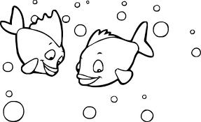 Bonita Disegni Pesci Da Colorare E Stampare Per Bambini Para