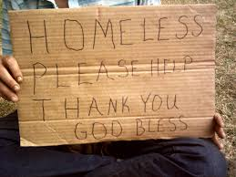 Homeless Please Help Sign Transmissions From Exile