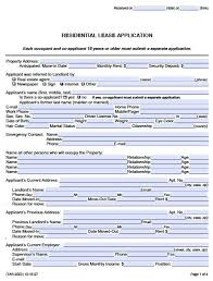 Renters Application Template Free Texas Rental Application Form Pdf Template
