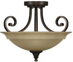 hampton bay carina 2 light aged bronze chandelier glass shade scroll decorative