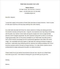 Cover Letter Examples For Sales Associate Sales Cover Letter 9 Free Word Pdf Documents Download