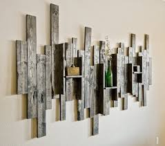 awesome diy reclaimed wood wall decor all art