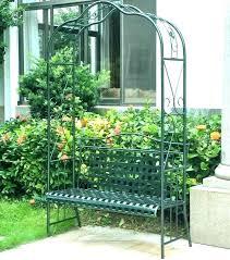 metal garden arbor patio arch