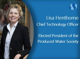 Lisa Henthorne Elected President of Produced Water Society