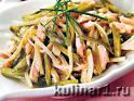 Салаты рецепты с мясом солеными огурцами