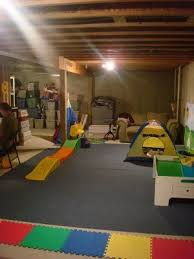 Image Basement Playroom Unfinished Basement Ideas Pinterest Basement Unfinished Basement Playu2026 Pinterest Great Example Of Turning An Unfinished Basement Into Playroom